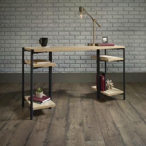 Industrial Style Chunky Bench Desk